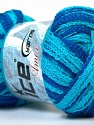 Fiber Content 100% Acrylic, Turquoise, Brand ICE, Blue, Yarn Thickness 6 SuperBulky  Bulky, Roving, fnt2-25076