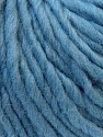 Fiber Content 100% Wool, Light Blue, Brand ICE, Yarn Thickness 5 Bulky  Chunky, Craft, Rug, fnt2-26011