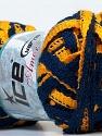 Fiber Content 100% Acrylic, Yellow, Navy, Brand ICE, Yarn Thickness 6 SuperBulky  Bulky, Roving, fnt2-26708
