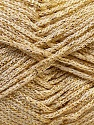 Width is 3 mm Fiber Content 100% Polyester, Yarn Thickness Other, Brand ICE, Gold, fnt2-27085