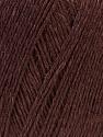 Fiber Content 50% Linen, 50% Viscose, Brand ICE, Dark Brown, Yarn Thickness 2 Fine  Sport, Baby, fnt2-27254