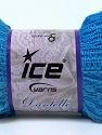 Fiber Content 65% Nylon, 35% Acrylic, Brand ICE, Blue, Yarn Thickness 6 SuperBulky  Bulky, Roving, fnt2-30614