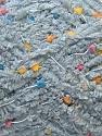 Fiber Content 85% Micro Fiber, 15% Polyamide, Brand ICE, Grey, Yarn Thickness 5 Bulky  Chunky, Craft, Rug, fnt2-32476