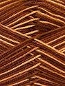 Ne: 8/4. Nm 14/4 Fiber Content 100% Mercerised Cotton, Brand ICE, Brown Shades, Yarn Thickness 2 Fine  Sport, Baby, fnt2-34752