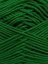 Fiber Content 100% Antibacterial Dralon, Brand ICE, Green, Yarn Thickness 2 Fine  Sport, Baby, fnt2-35245