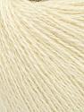 Fiber Content 50% Silk, 40% Merino Superfine, 10% Kid Mohair, Brand ICE, Cream, Yarn Thickness 1 SuperFine  Sock, Fingering, Baby, fnt2-37005