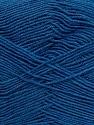 Fiber Content 55% Cotton, 45% Acrylic, Brand ICE, Blue, Yarn Thickness 1 SuperFine  Sock, Fingering, Baby, fnt2-38680