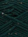 Fiber Content 72% Acrylic, 3% Viscose, 25% Wool, Brand ICE, Dark Green, Yarn Thickness 6 SuperBulky  Bulky, Roving, fnt2-40838