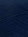 Fiber Content 100% Virgin Wool, Navy, Brand ICE, Yarn Thickness 3 Light  DK, Light, Worsted, fnt2-42310