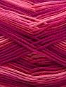 Fiber Content 100% AntiBacterial Micro Dralon, Pink Shades, Brand ICE, Fuchsia, Yarn Thickness 2 Fine  Sport, Baby, fnt2-42652
