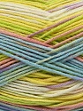 Fiber Content 100% AntiBacterial Micro Dralon, Yellow, White, Pink, Brand ICE, Green, Blue, Yarn Thickness 2 Fine  Sport, Baby, fnt2-42661