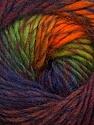 Fiber Content 70% Dralon, 30% Wool, Orange, Navy, Maroon, Brand ICE, Green, Burgundy, Yarn Thickness 4 Medium  Worsted, Afghan, Aran, fnt2-42705