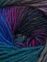 Fiber Content 70% Dralon, 30% Wool, Teal, Purple, Lilac, Brand ICE, Grey, Blue, Yarn Thickness 4 Medium  Worsted, Afghan, Aran, fnt2-42708