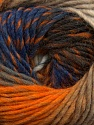 Fiber Content 70% Dralon, 30% Wool, Orange, Brand Ice Yarns, Camel, Blue, Beige, Yarn Thickness 4 Medium  Worsted, Afghan, Aran, fnt2-42763