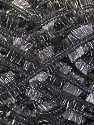 Fiber Content 95% Polyester, 5% Metallic Lurex, Silver, Brand ICE, Dark Grey, Yarn Thickness 5 Bulky  Chunky, Craft, Rug, fnt2-45521