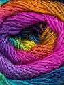 Fiber Content 50% Acrylic, 50% Wool, Rainbow, Brand ICE, Yarn Thickness 2 Fine  Sport, Baby, fnt2-46282