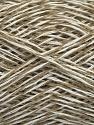 Fiber Content 36% Linen, 32% Acrylic, 32% Cotton, White, Brand ICE, Beige, fnt2-48548