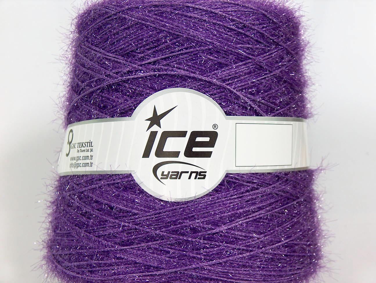 Metallic Yarns Sparkle [Cone] Purple